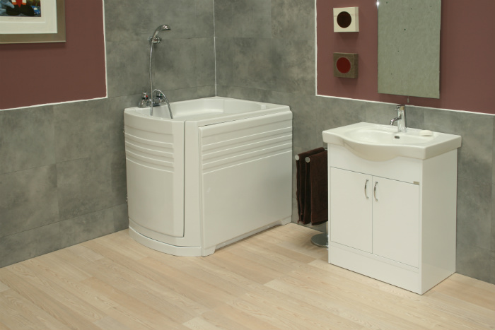 Ambiance Walk in Bath Room Set