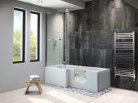 Larimar Walk in Bath Room Set